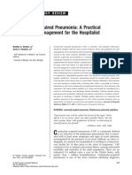 Community-Acquired Pneumonia a Practical