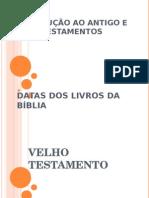 Introdução Ao at e NT - Datas Dos Livros