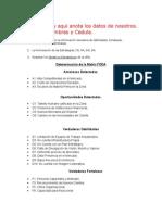 Matriz Foda Albricia 21