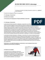 Albertpetit.wordpress.com-Capítulo 5 de UNE-En ISO 90012015Liderazgo