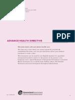Advance Health Directive