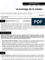 HCV - Como vencer al enemigo de la misión - 27Sep2015