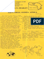 Beasley Wesley Alta 1992 Papua New Guinea