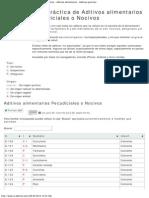 E-Aditivos _ Lista de Aditivos Nocivos en Los Alimentos - Aditivos Alimentar