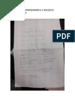 Ejercicio de Termodinámica 2 Resuelto