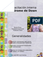 Capacitación Sindrome de Down