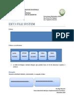 [MIA]EXT3FileSystem