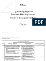 argumentationrubric 6-11  rubric