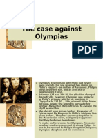 The Case Against Olympias