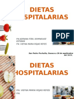 Dietas Hospitalarias HSP Correcciones