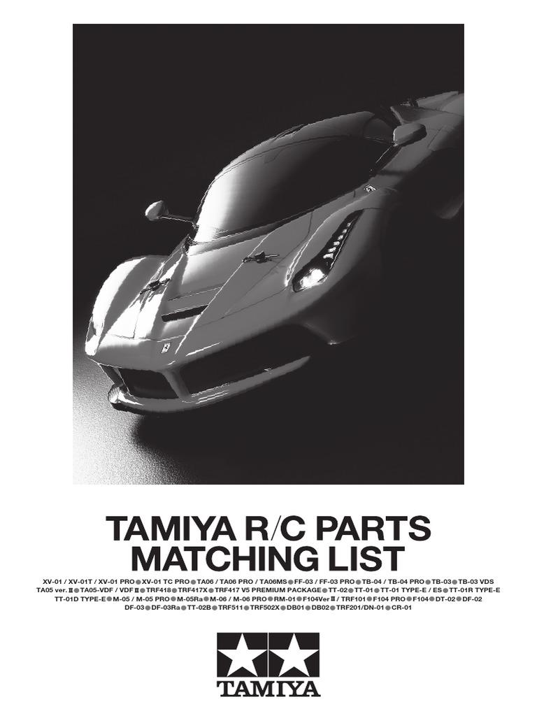 Tamiya 54486 RC TA06 Aluminum Bulkhead Rear