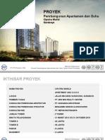 Presentasi Proyek Ciputra World Soho & Apartement