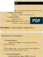 Copper Hydrometallurgy