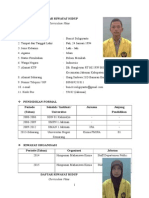 CV PKL