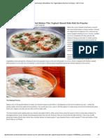 7 Delicious Raita Recipes_ What Makes This Yoghurt-Based Side Dish So Popular - NDTV Food