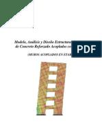 Modelo, Analisis y Diseño de Muros Acoplados Con Dinteles