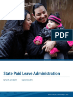 State Paid Leave Administration