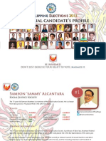 Senatoriables' Profiles PDF