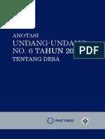 Anotasi-Undang-Undang Nomor 6 Tahun 2014 Tentang-Desa
