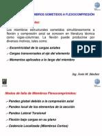 Diseño de Miembros en Flexio-Compresión