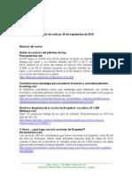 Boletin de Noticias KLR  30SEPT2015
