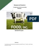 Food inc Assingment