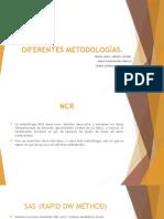 DIFERENTES METODOLOGÍAS DW
