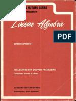 Lipschutz-LinearAlgebra