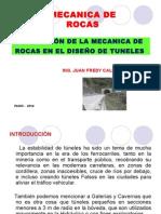 Mec. de Rocas en Diseño de Tuneles