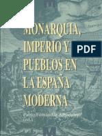 Monarquía, imperio y pueblos en la España Moderna