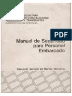 Manual de Seguridad Para Personal Embarcado