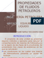 Unidad II. Equilibrio Gas-liquido Completo