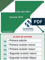 Actualización ISO 9001:2015