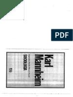 MANNHEIM, K. a Liberdade Na Etapa Do Planejamento