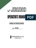 Furuno Fm3000 Vhf