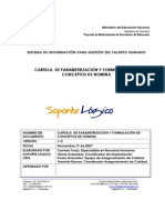 CARTILLA DE PARAMETRIZACIÓN Y FORMULACIÓN DE CONCEPTOS DE NOMINA