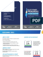 Informativo Elecciones Primarias