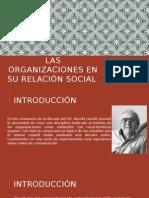 Las Organizaciones en Su Relación Social