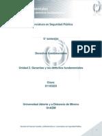 Unidad 2.Garantías y Los Derechos Fundamentales