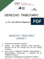 Unidad I Derecho Tributario
