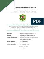 Identificación de Fuentes Contaminantes de Los Cuerpos Naturales de Agua Superficial Jurisdicción de La Admi_0