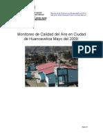 Informe de contaminacion del aire en la ciudad de Huancavelica 2009 (1)