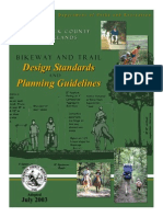 Bikeway and Trails Design Standards
