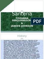Santeria Powerpoint