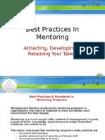 Best Practices in Mentoring0908