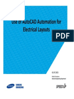 AutoCAD Automation for Electrical Drawings