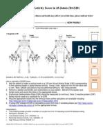 Disease Activity Score in 28 Joints