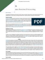Accounting Basics_ Branches of Accounting