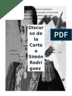 La Carta de Simón Bolívar a Su Maestro
