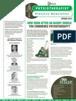 Spring Edition 2012 Newsletter
